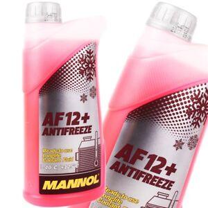 RADIATORE-antigelo-rosso-g12-1l-MANNOL-ANTIFREEZE-af12-Refrigerante-VW-AUDI
