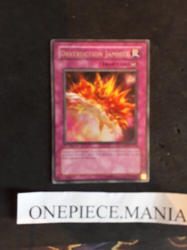 Yu-Gi-OH Destruction Jammer LODT-EN072 1st