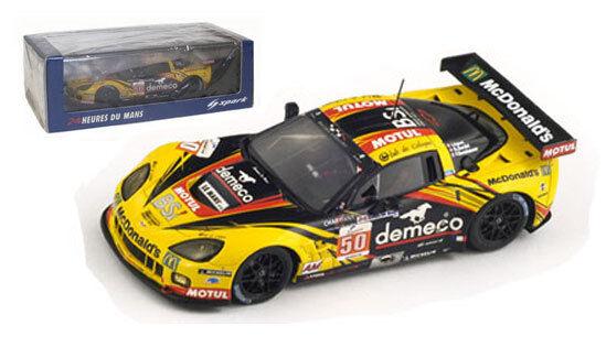 Spark s2543 Corvette C6 Zr1 Lm Gte Am ganadora de clase-Le Mans 2011 1 43 Escala
