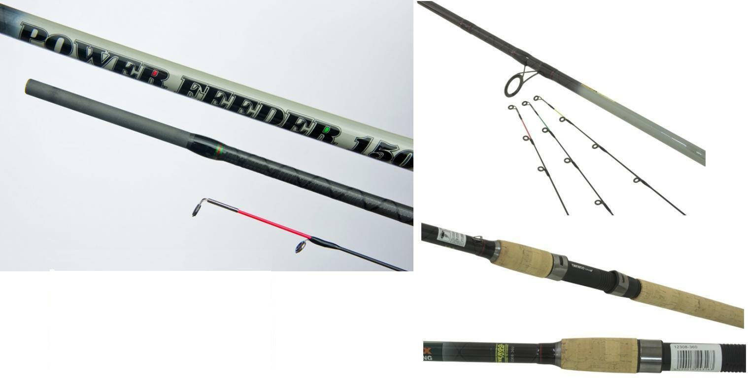 Energo Team POWER FEEDER 150 con 3 punte feederrute stadia canna da pesca