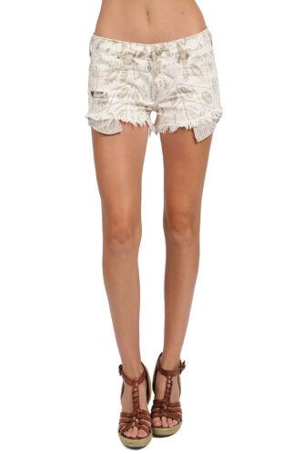People Free 88 Shibori Rv Distressed 29 Offs Cream Nwt Shorts Ladies Pantaloni Cut p5Aqq4nx1