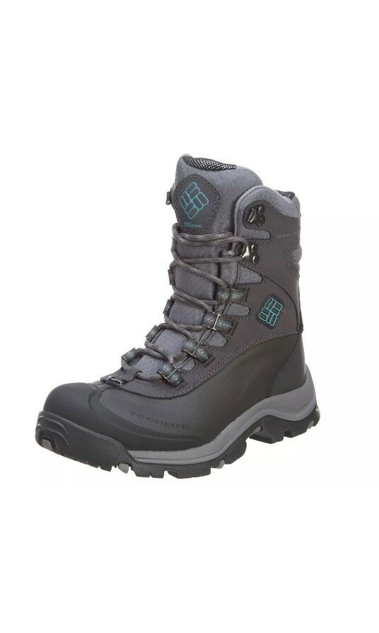 COLUMBIA BUGABOOT PLUS III OMNI-HEAT WOMEN'S AQUA WATERPROOF WINTER BOOT SHALE AQUA WOMEN'S f3526a