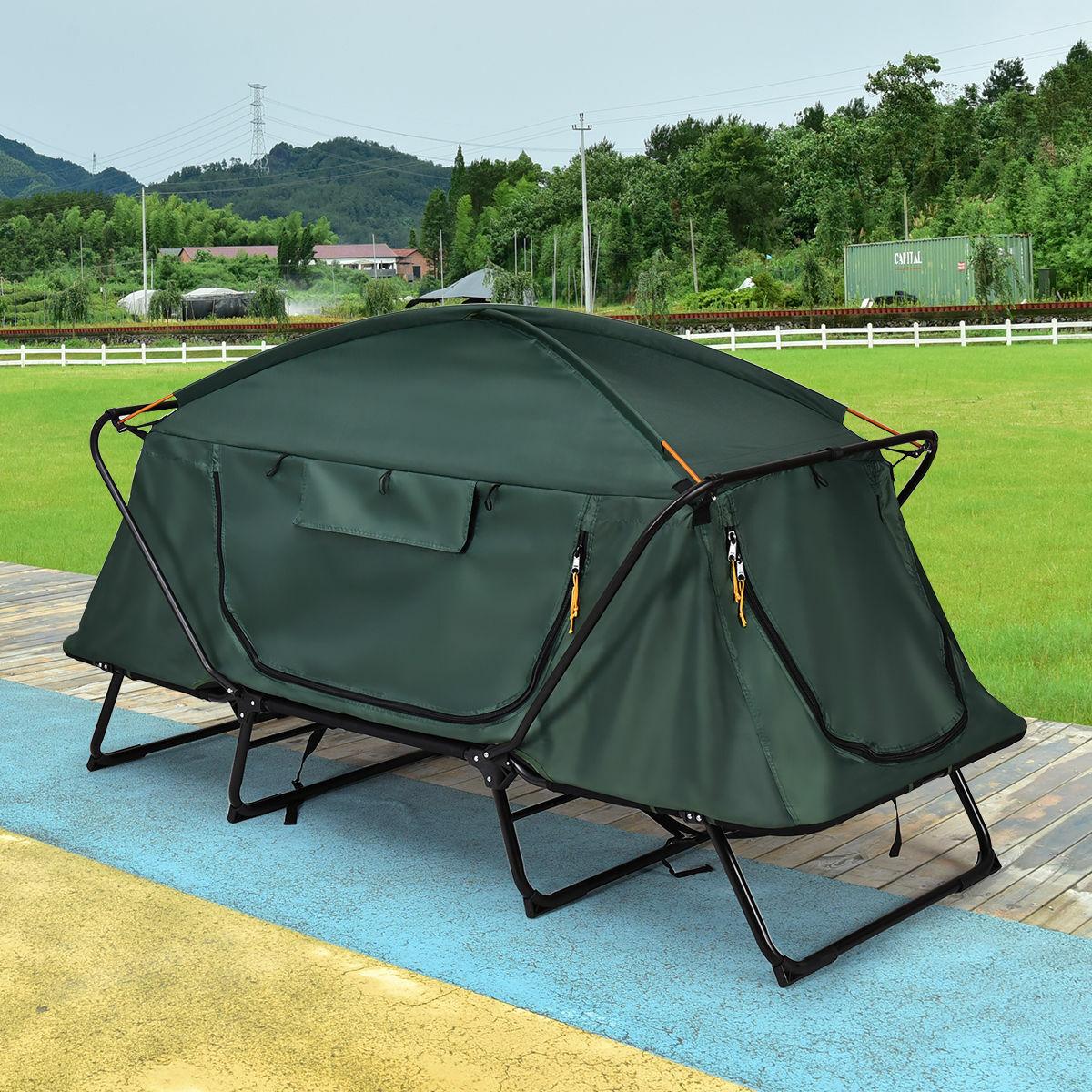 Puede doblar un estante para acampar, tiendas, lonas, cama impermeable, excursión, maletas.