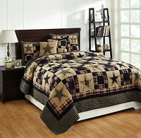 7pc Revere Queen Bed Quilt Set By Olivias Heartland/country Bedding