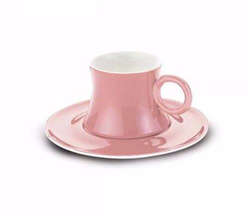 Korkmaz Freedom a8668 rose fine bone porcelain Moka tasses 6er set