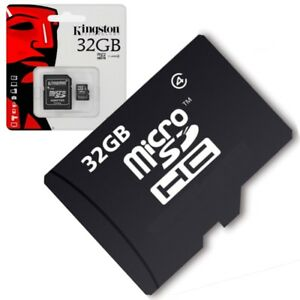 Scheda-di-memoria-Micro-SD-32gb-classe-4-Per-Yezz-Andy-A6M