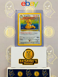 Dragonite-4-62-LP-Lightly-Played-Fossil-Set-Holofoil-Rare-Holo-Pokemon-Card