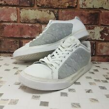 118c742b4 Adidas Mens Stan Smith trainers Size 10 White leather shoes grey sneakers  us 44
