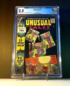Unusual-Tales-11-1958-Charlton-Comics-CGC-2-5-GD