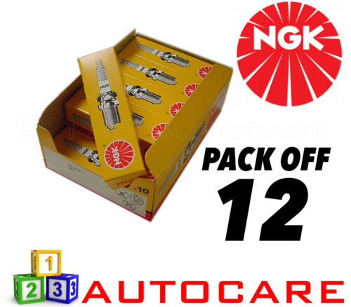 12 Pack-número de parte bcp6es No Ngk Reemplazo Bujía Set 4930 12pk