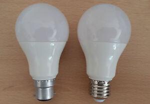 9w Led Gls Bc B22 Es E27 Pearl Light Bulbs Warm Cool White