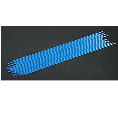 "24pcs Dubro 2347 Standard size Antenna Tube Blue 12-1//4x1//8/"""