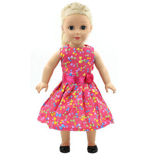 Hot-Fits-18-034-inch-Doll-43cm-Baby-Dolls-Handmade-fashion-Doll-Clothes-dress