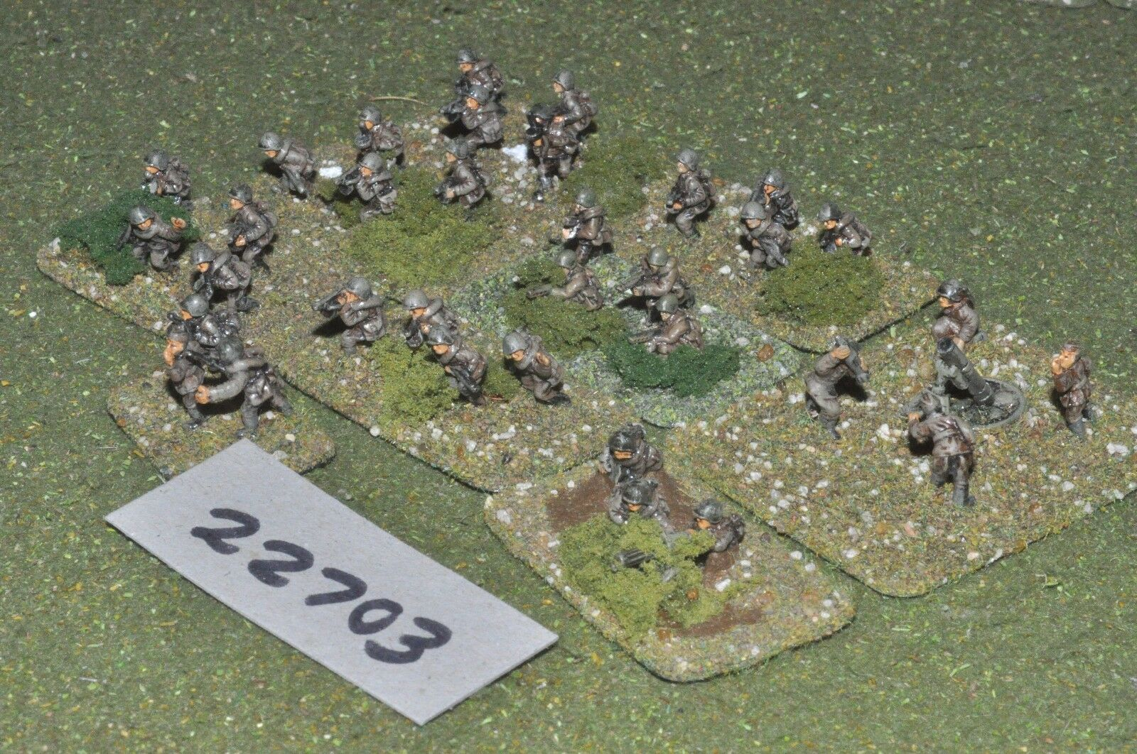 15mm WW2   russian - battle group inf world war 2 - inf (22703)
