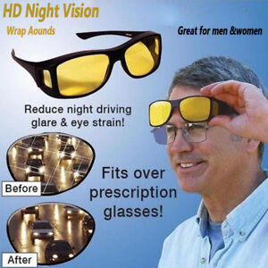 HD-Night-Vision-Glasses-Driving-Vintage-Sunglasses-Outdoor-Anti-Glare-Eyewear-US