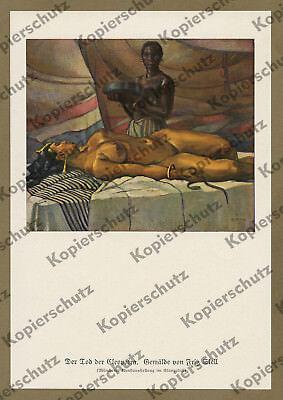 Fritz Skell Kleopatra nackt Tod Akt Erotik Antike Ägypten