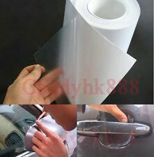 6''x80'' Rhino Skin Car Bumper Hood Paint Protection Film Vinyl Sticker Clear