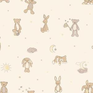 Image Is Loading Arthouse Bear Hugs Teddy Stars Moon Nursery