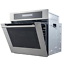 thumbnail 3 - Cosmo Single Electric Wall Oven 24 in. 2.5 cu. ft. Safety Lock Stainless Steel