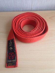 Martial Arts Judo Karate Kick Boxing Orange Belt 250cm - <span itemprop='availableAtOrFrom'>Bristol, Avon, United Kingdom</span> - Martial Arts Judo Karate Kick Boxing Orange Belt 250cm - Bristol, Avon, United Kingdom