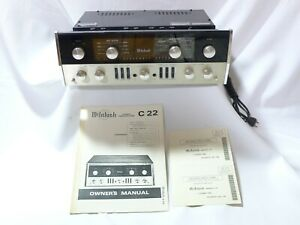 McIntosh-C22-Tube-PreAmplifier-SERVICED-THE-KING