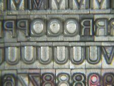 Unknown Font Name 18 Pt Letterpress Metal Type Printers Type