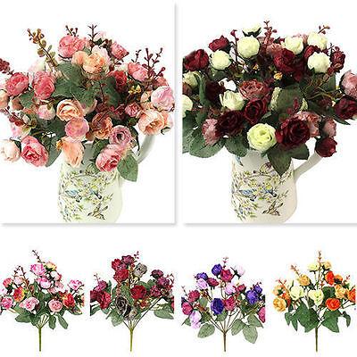 Hortensien Blumen Seidenblumen Floristik Neu Kunstblumen Blumenstrauß Künstliche