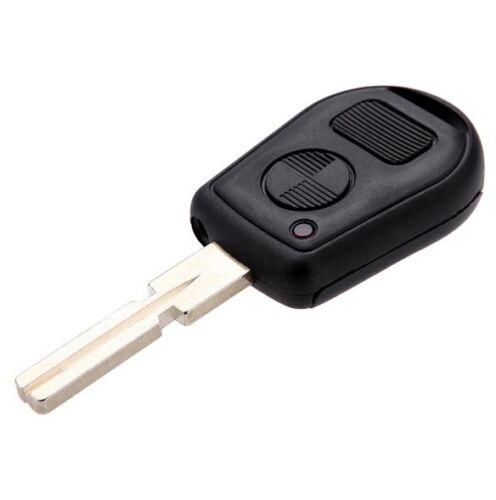 2 Buttons replacement repair Key Case Cover Fob for BMW E38 E39 E36 Z3 HU58