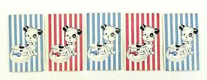 5-Playing-Cards-Aces-Puppy-Dog-Fish-Vintage-Single-Swap-Craft-Junk-Journal-Craft