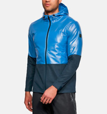 Island Green Ultra L/éger Coupe-Vent Thermique Hydrofuge Respirante Flexible Windstopper Top Windbreaker Homme