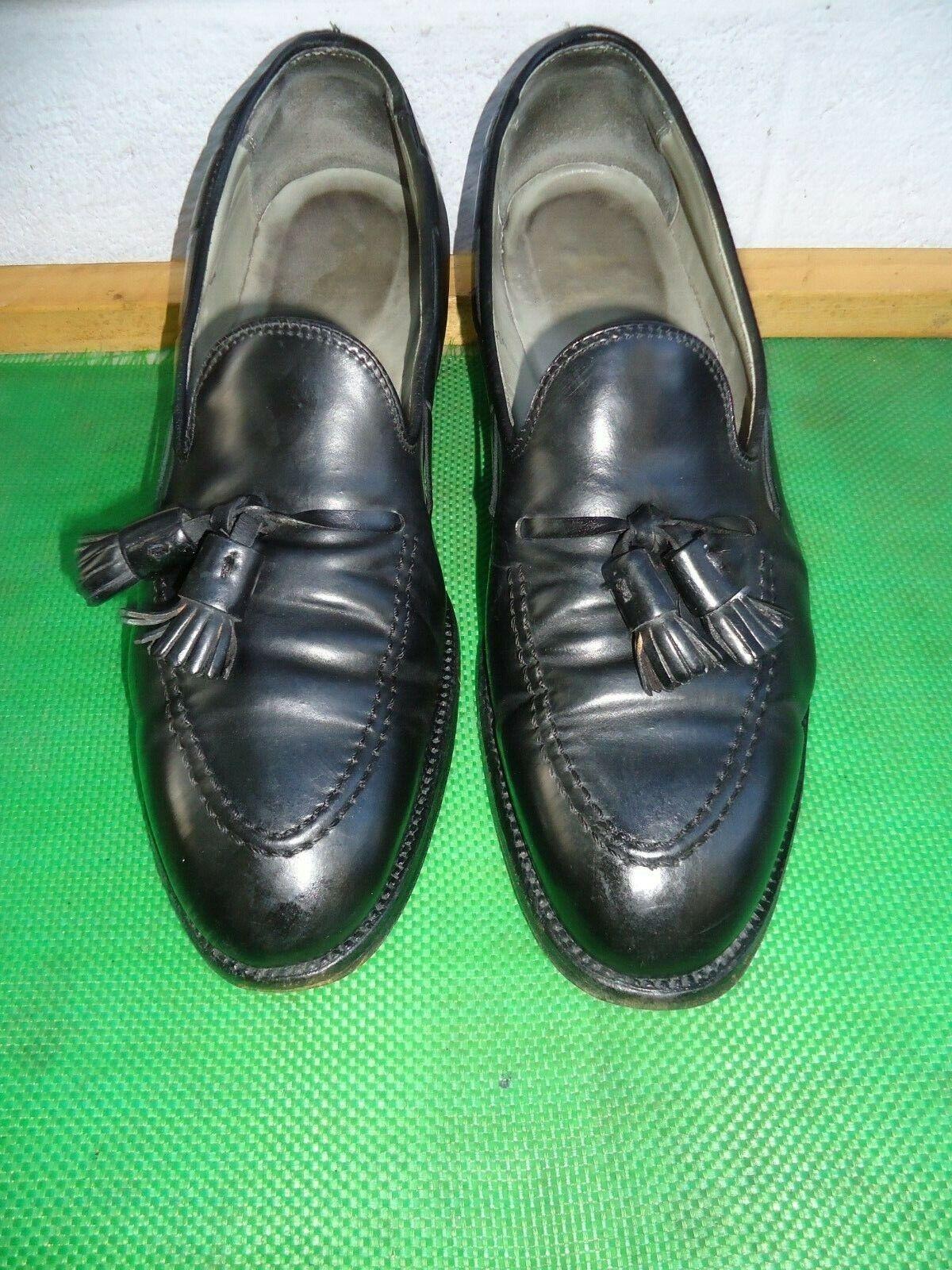 Alden  664 noir Shell Cordovan Tassel Loafers Hommes Chaussure Sz   10.5 B D