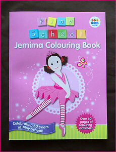 Image Is Loading PLAY SCHOOL JEMIMA ACTIVITY Amp COLOURING IN BOOK