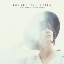 Sharon Van Etten I Don't Want to Let You Down Vinyl Record! non are we there lp!