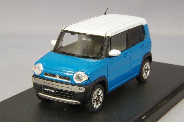 1 43 Mark43 Suzuki Hustler X Summer blu Metallic  PM4388XBL