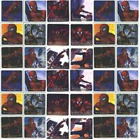 Spiderman 1 Spiderman 2 Movie Stickers 36 Large Stickers Dr Octopus