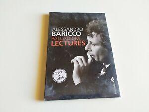 COFANETTO 2 DVD + LIBRO - ALESSANDRO BARICCO - PALLADIUM LECTURES - NUOVO SIGILL