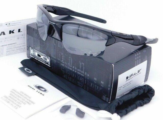 Oakley Half Jacket 2.0 XL Sunglasses OO9154-01 Polished Black W/ Black iridium