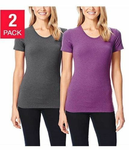 32 Degrees Men/'s Cool Tee Short Sleeve Crew Neck 2-pack Select Color Size