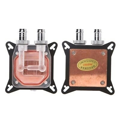 GPU <b>Water Block Cooling</b> Double Channel Copper <b>Cooler For</b> ...