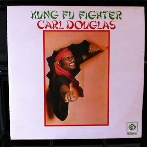 CARL-DOUGLAS-Kung-Fu-Fighter-Original-PYE-Records-9-Track-VINYL-LP