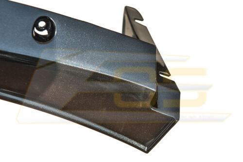 For 14-Up Corvette C7 Z06 Stage 3 Side Splitter Winglets /& CL Wickerbill Spoiler