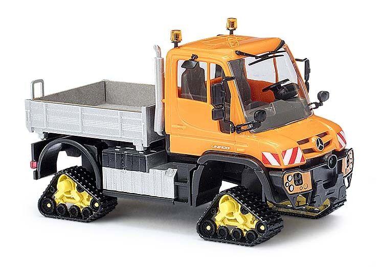 Busch 50921, MERCEDES UNIMOG U430 with raupenantrieb, H0 Car Model 1 87