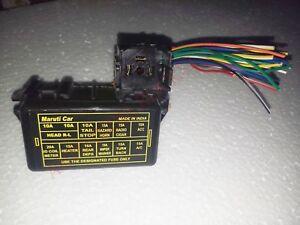 details about suzuki sj413 main fuse box w wire pigtail sj413 suzuki samurai 86 95 2009 Suzuki SX4 Fuse Box