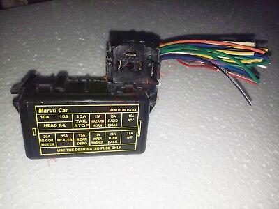SUZUKI SJ413 Main Fuse Box w/ Wire Pigtail - SJ413 / Suzuki Samurai 86-95 |  eBay