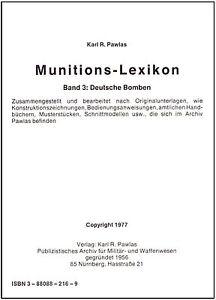 Munitions-Lexikon-Band-3-Deutsche-Bomben-Minen-Torpedos-Raketen-Sprengstoffe