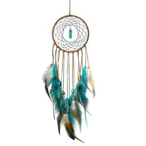 Handmade-Dream-Catcher-with-Feathers-Wall-Home-Car-Hanging-Ornament-Decor-Gift