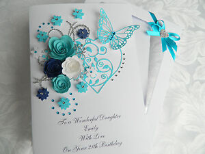 Image Is Loading Handmade Personalised Birthday Card Mothers Day Anniversary Any