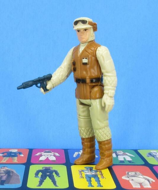 Vintage Star Wars Hoth Rebel Soldier! COMPLETE!! Molded Boots!! 1980 ESB