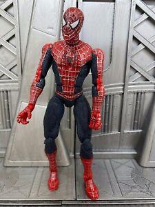 Marvel-Legends-Toybiz-Spider-man-Movie-2-Rare-Tobey-Maguire-6-034-Action-Figure-1