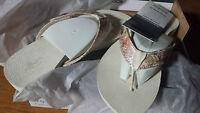 Bandals Women's Sandals Cream W/changable Colors - Cheap